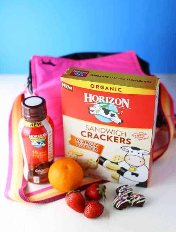 Horizon Milk and Crackers