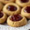 Peanut Butter & Jelly Thumbprints for Back to School