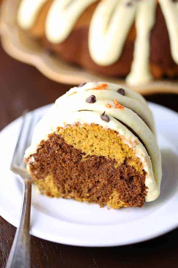 Pumpkin Chocolate Swirl Bundt Cake Mom Loves Baking