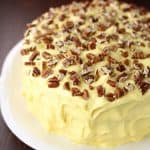 1-2-3-4 Cake with Butternut Frosting