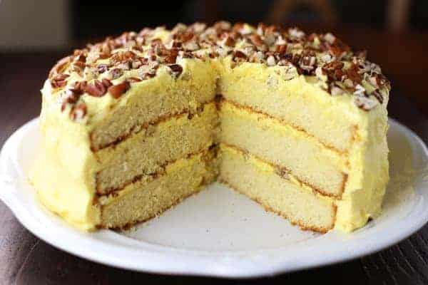 Basic Vanilla Butter Cake