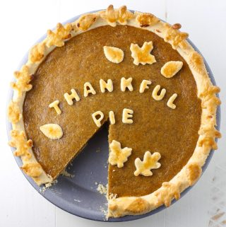 Thankful Pumpkin Pie