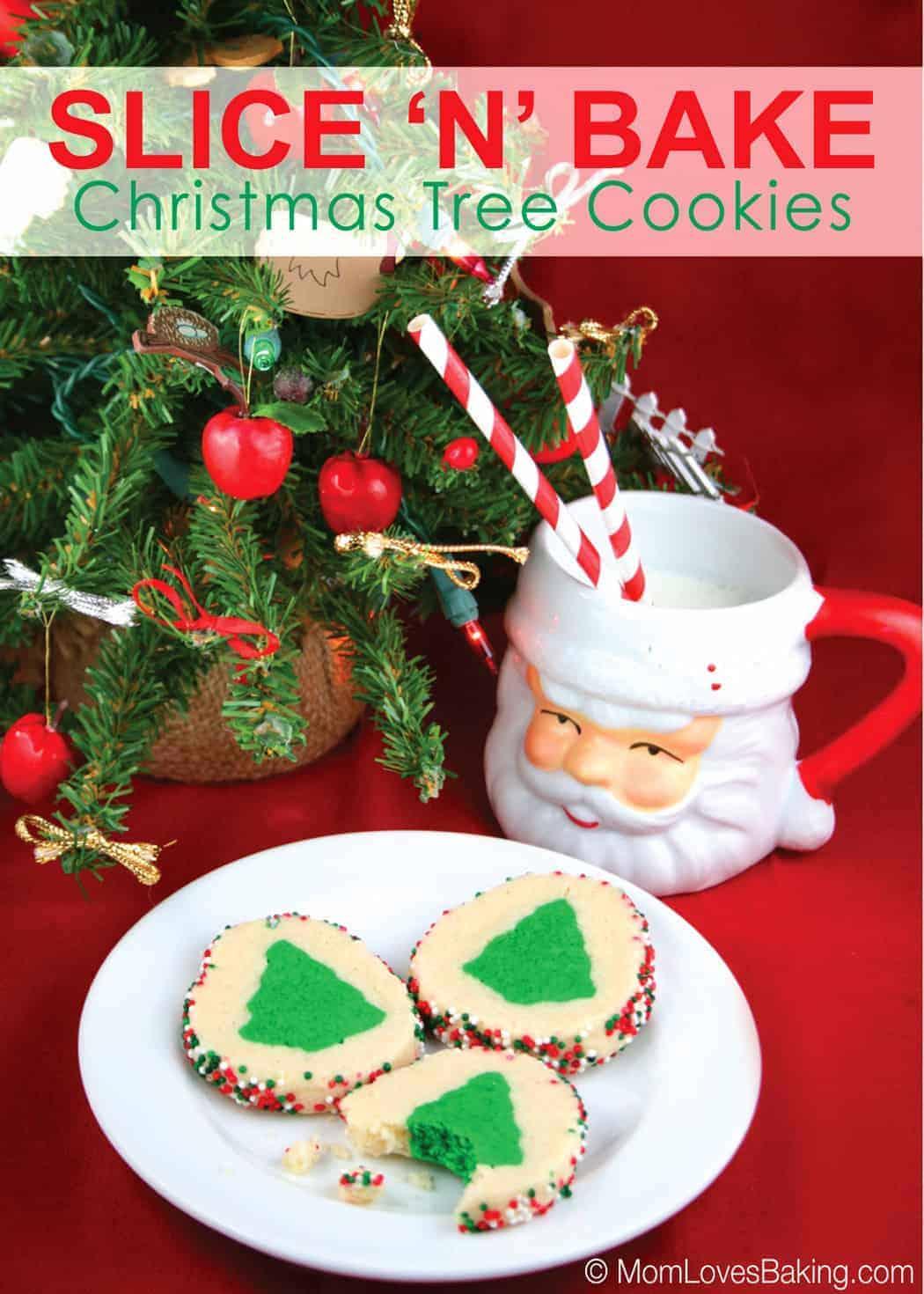 Slice-N-Bake Christmas Tree Cookies
