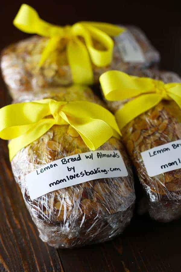 Aunt Sara's Lemon Bread for Church Bake Sale