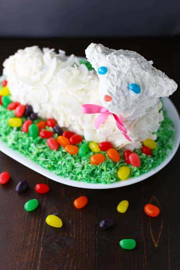 How To Frost A Lamb Cake
