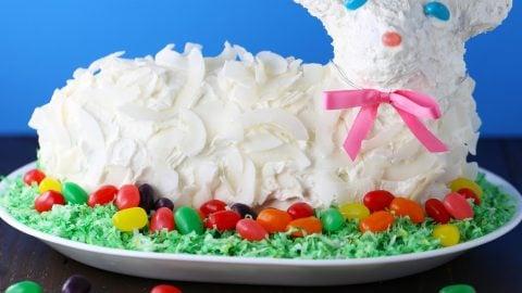 Amazing 3D Lamb Cake For Easter Mom Loves Baking Birthday Cards Printable Inklcafe Filternl