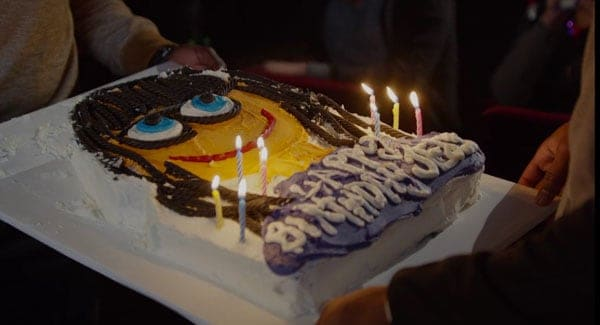 Jessica Day's Birthday Cake from New Girl