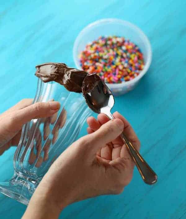 Funfetti Chocolate Mocha Frappucino