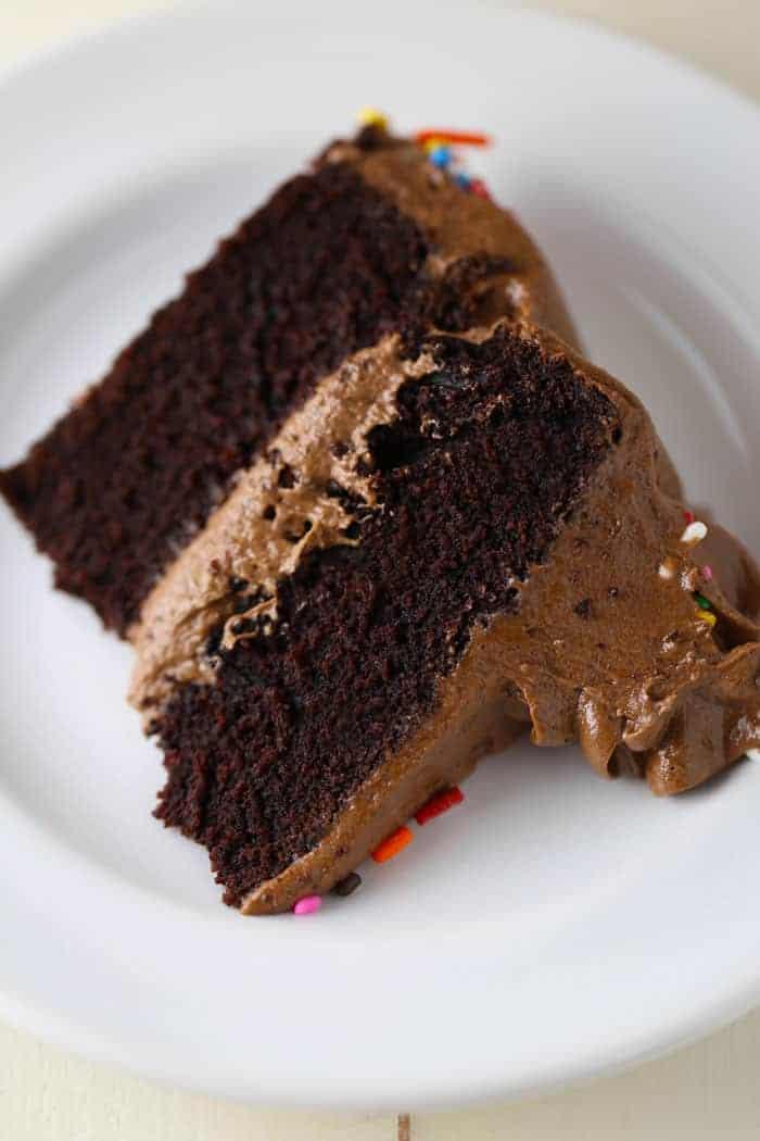 Best Gluten Free Dairy Free Chocolate Birthday Cake