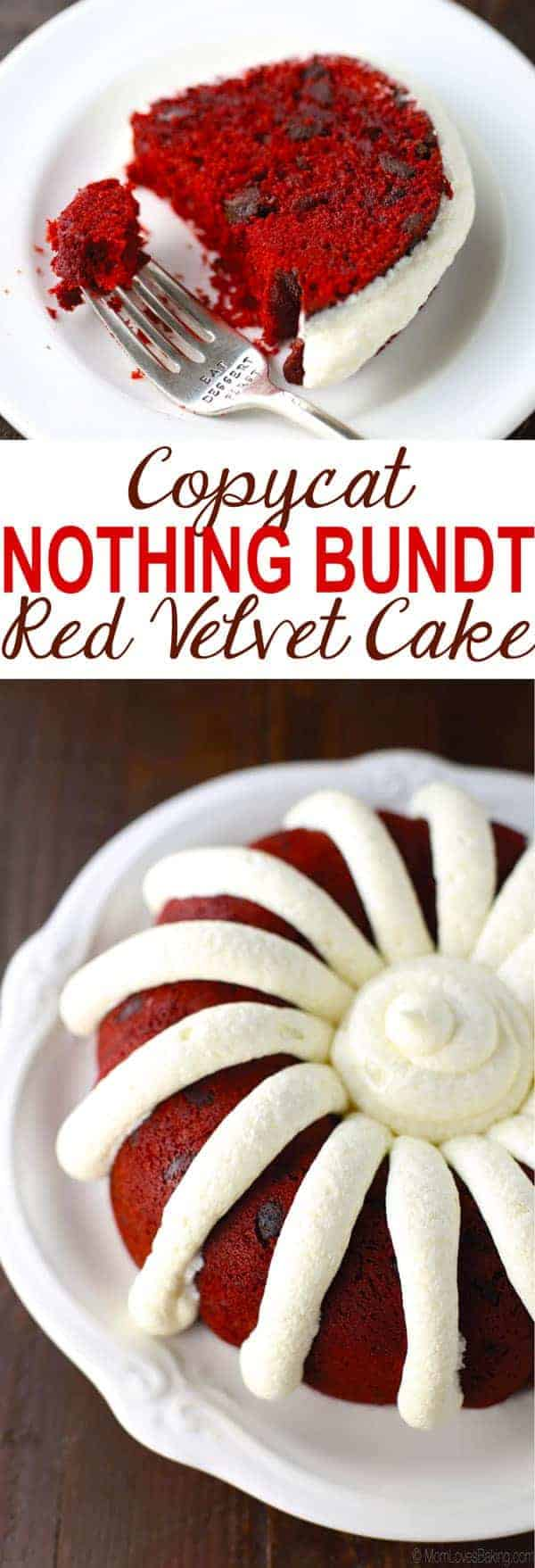 Nothing Bundt Cakes Copycat Recipe Red Velvet