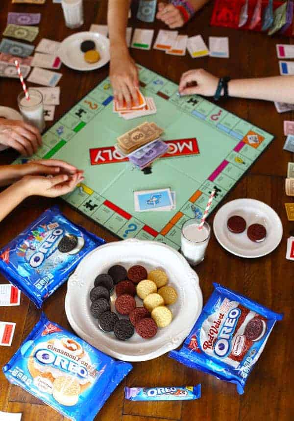 Host a Game Night Party with OREO Cookies