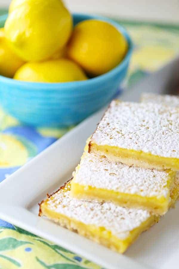 Old Fashioned Lemon Curd Bars