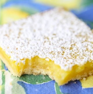 Old Fashioned Lemon Curd Bars