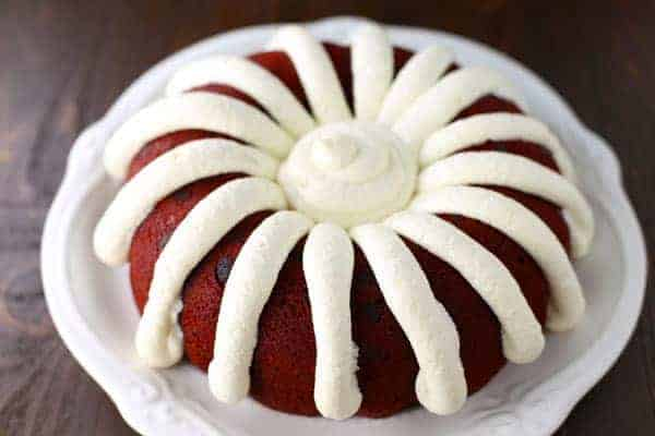 Copycat Nothing Bundt Red Velvet Cake