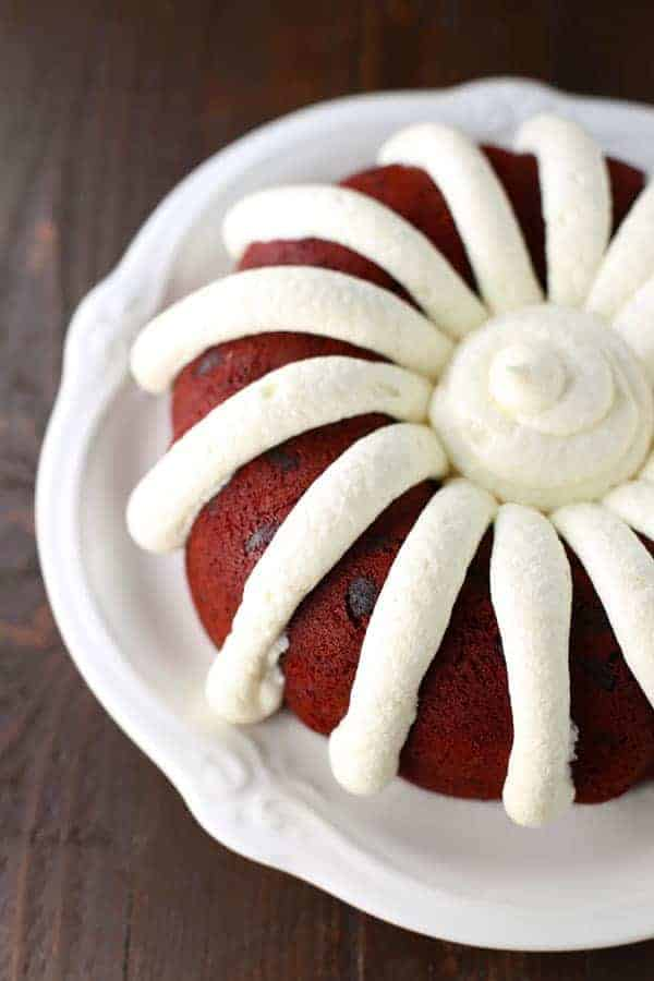 How Much Frosting For  Bundt Cakes