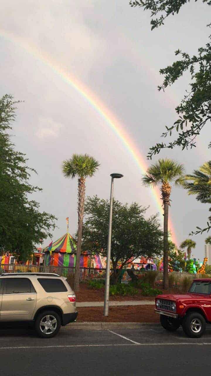 Rainbow at Pier Park