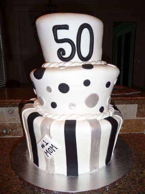 50th Birthday Cake Fail