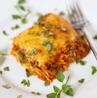Baked Spaghetti – The Easiest Dish on the Planet