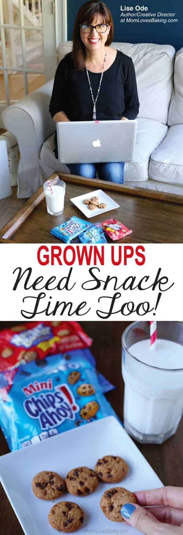 Grown ups need snack time too
