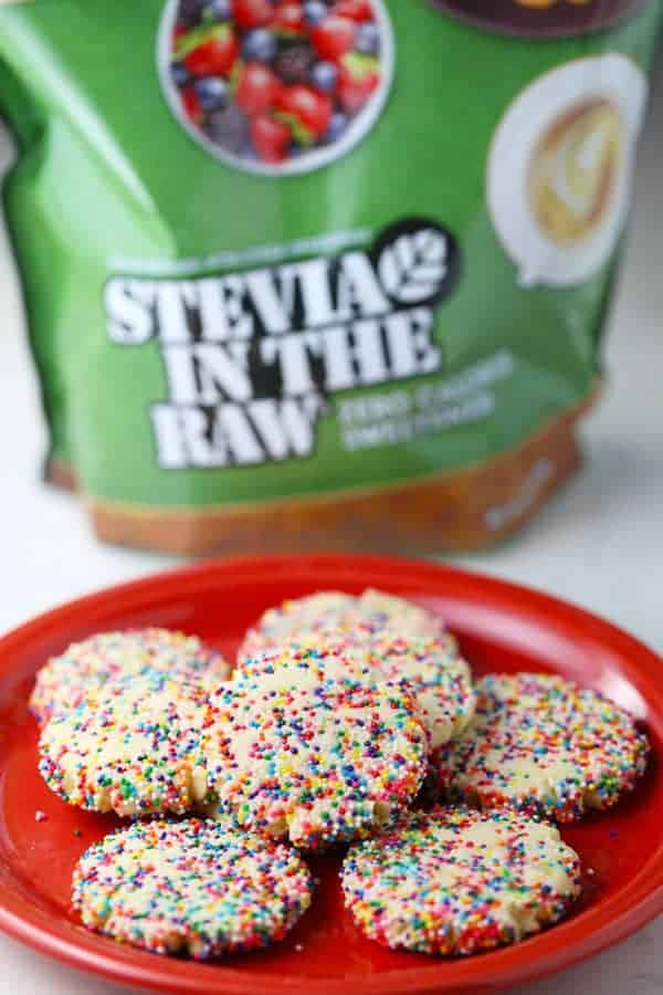 Rainbow Sprinkle Sugar Cookies