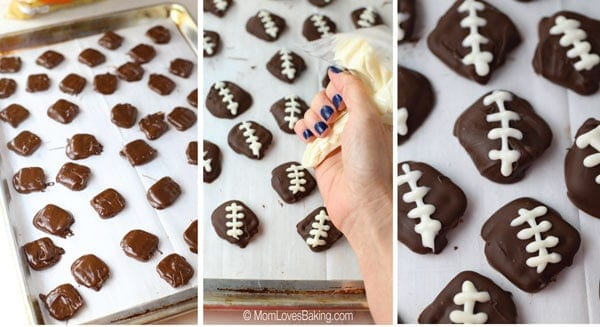 Game Day Pretzel Footballs
