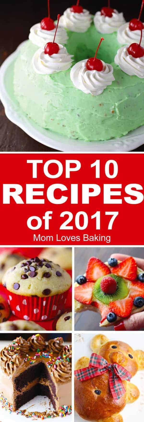 Top 10 Recipes 2017