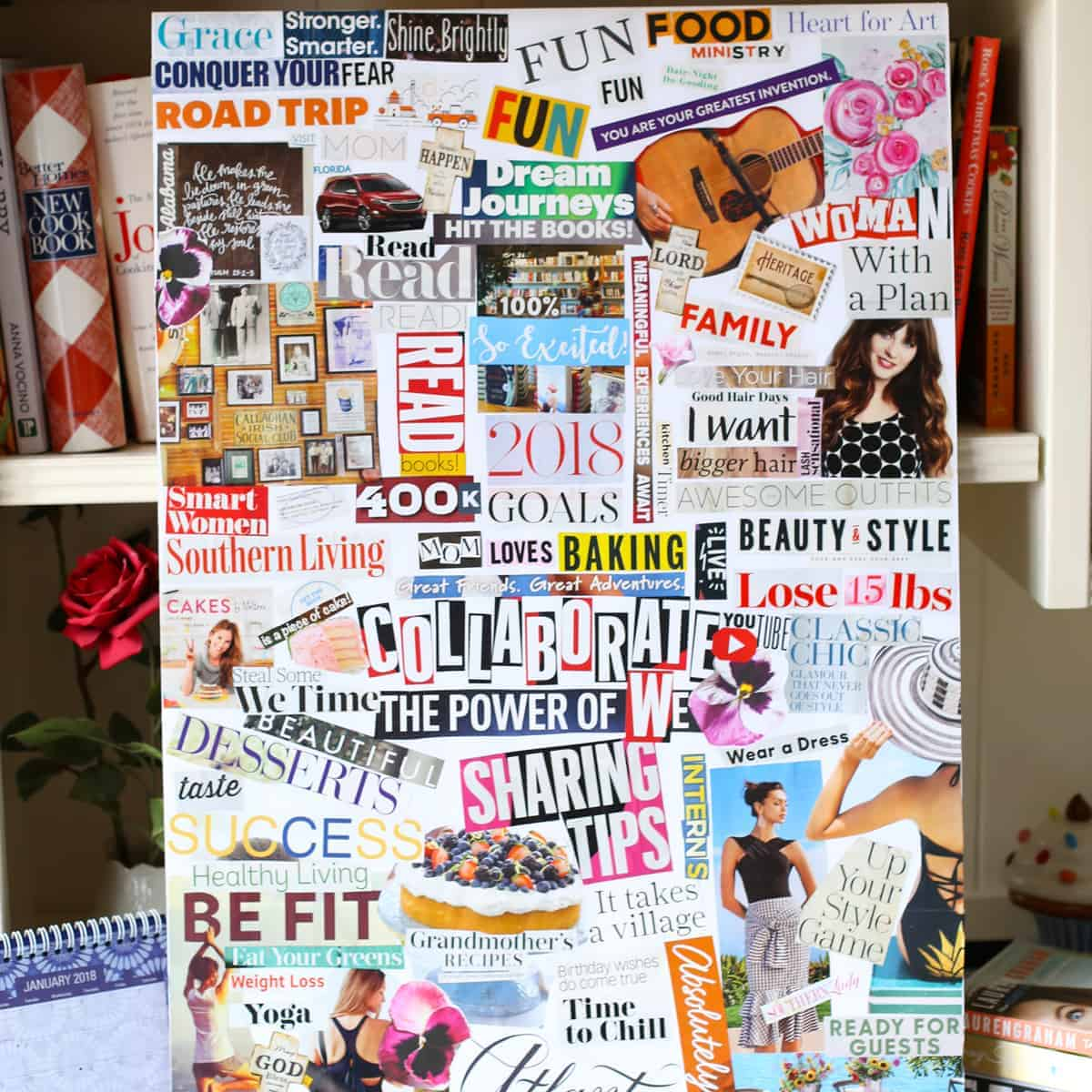 Sarah Centrella  Vision Board Workshops