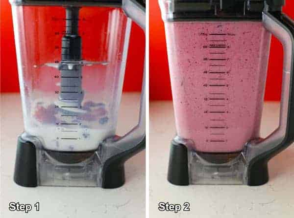 Easy Triple Berry Fruit Smoothie