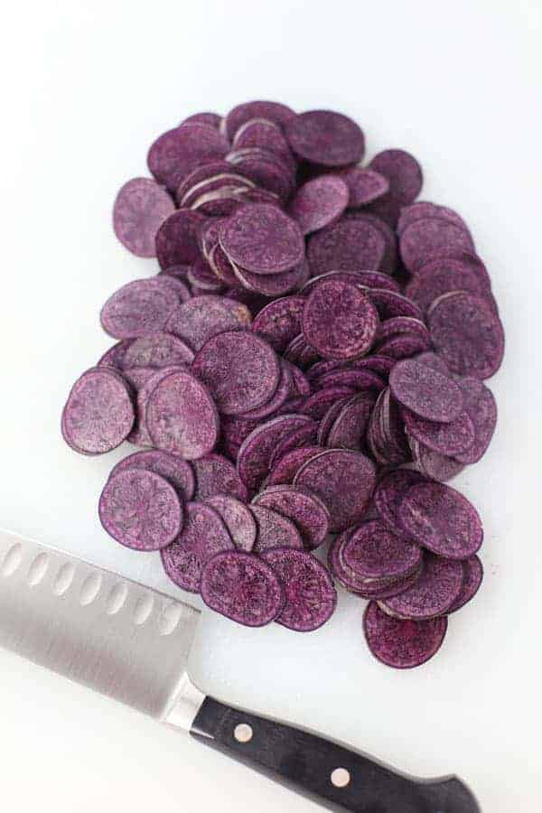 Purple Potato Roses