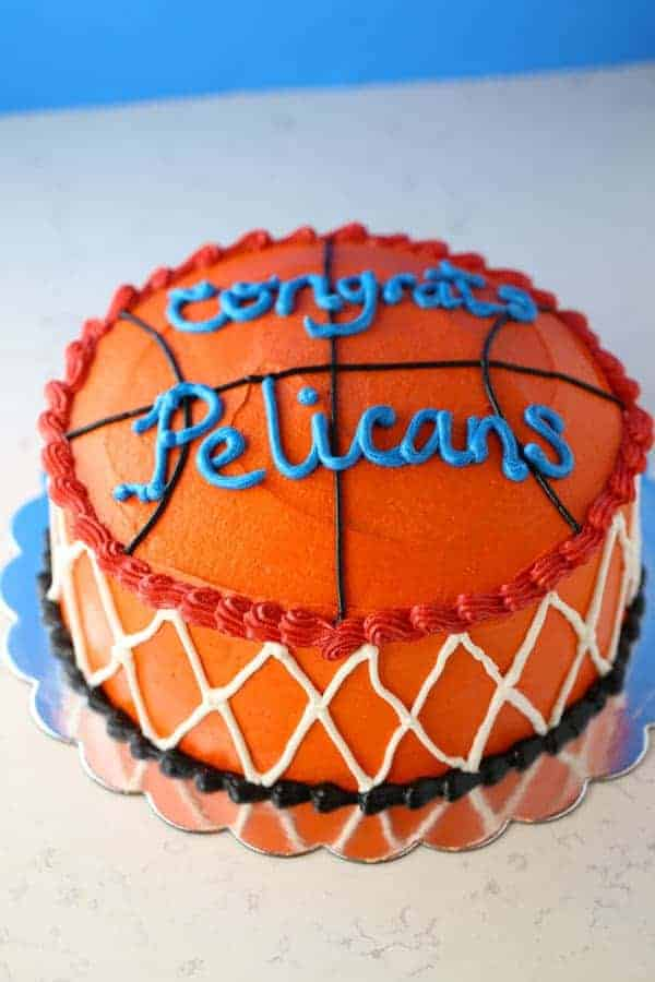 Wacky Chocolate Basketball Theme Cake Mom Loves Baking