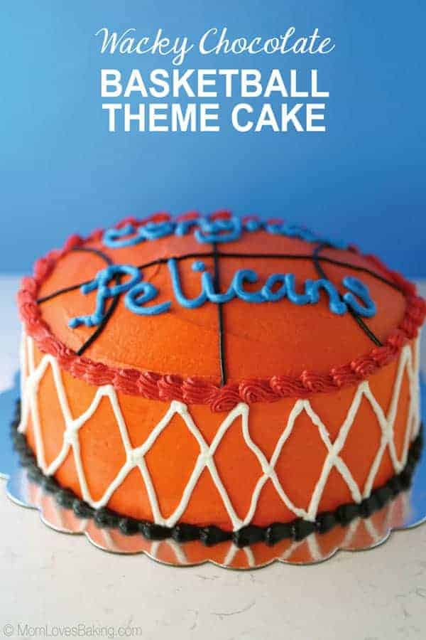 Wacky-Chocolate-Basketball-Theme-Cake