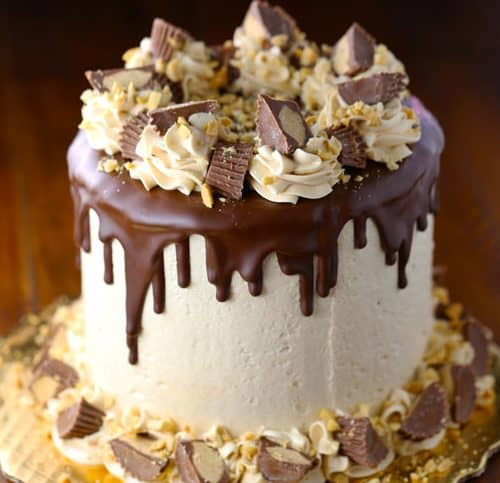 Peanut Butter Swiss Meringue Chocolate Cake Mom Loves Baking