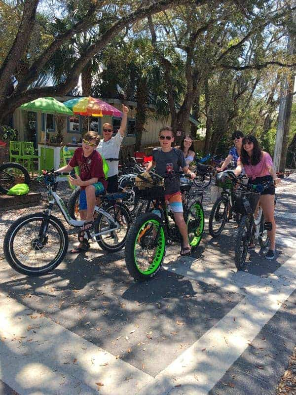 Electric Bikes at Grayton Beach Florida