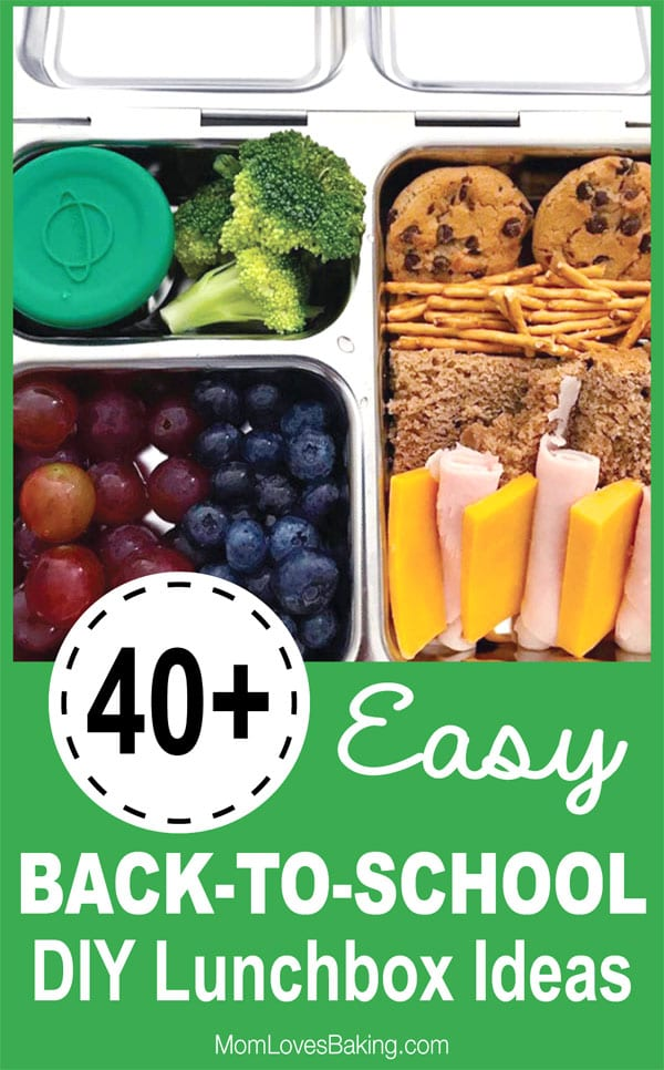 easy diy back to school lunchbox ideas