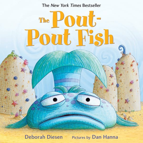 the pout pout fish board book