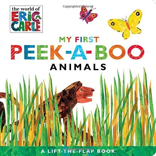 My First Peek a boo animals board book