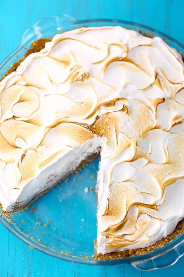Baked Alaska Ice Cream Pie
