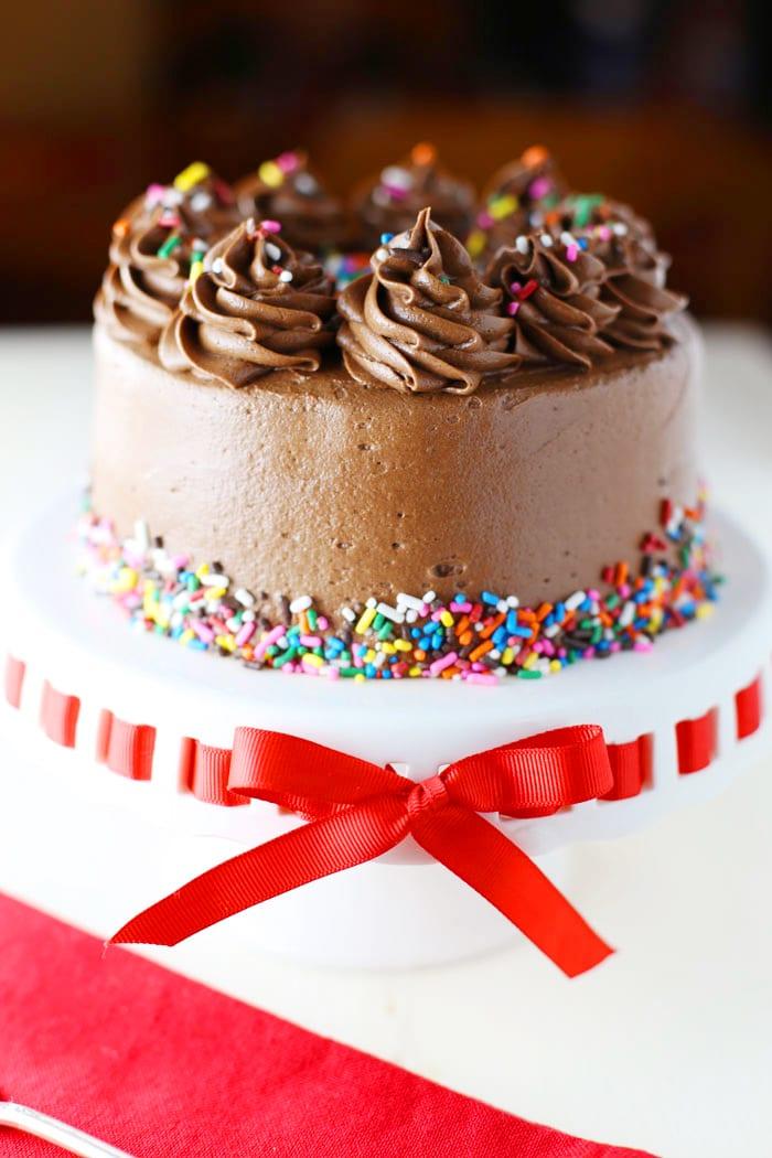 Gluten free dairy free birthday cake