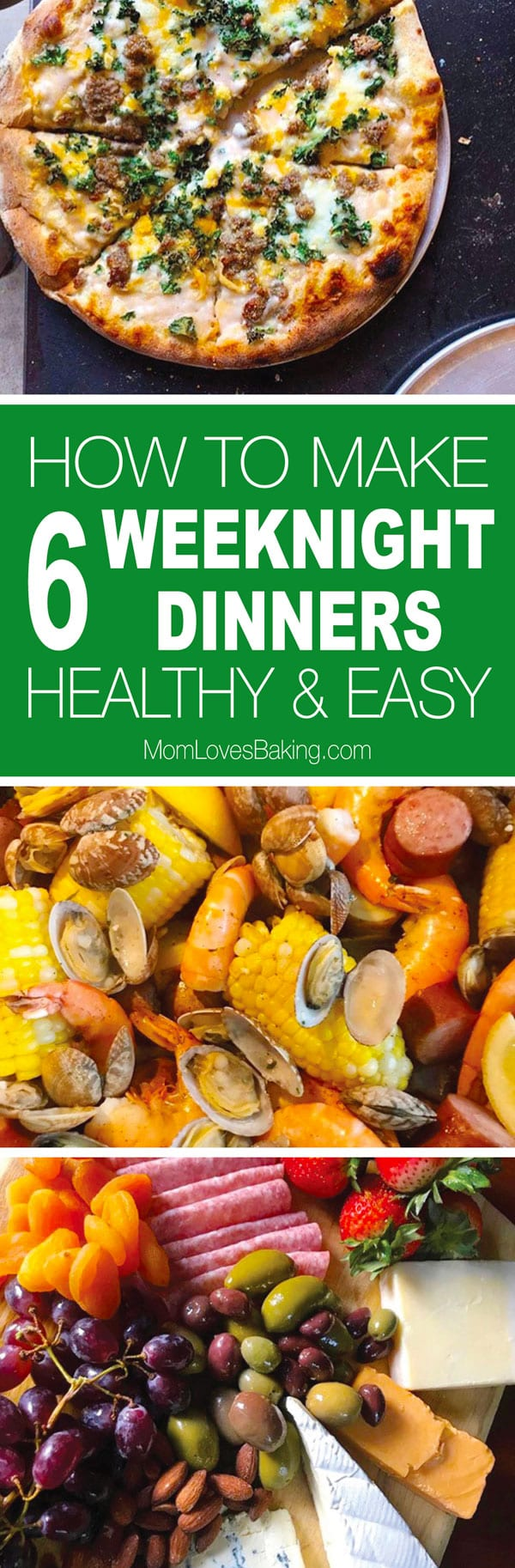 How to make 6 healthy easy weeknight dinners
