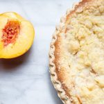 Aunt Nancy's Peach Pie with Streusel Topping
