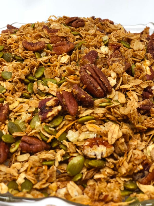 Easy and Healthy Pumpkin Spice Granola
