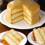 Old Fashioned Southern Caramel Cake