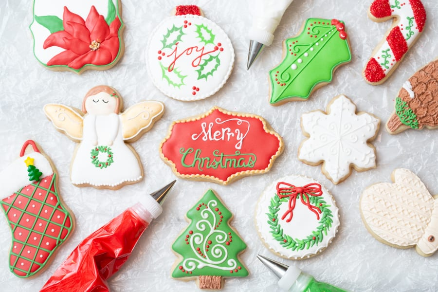Grandma's Christmas Cut-Out Sugar Cookies