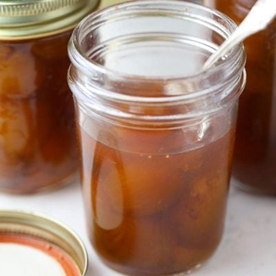 Old Fashioned Southern Style Fig Preserves