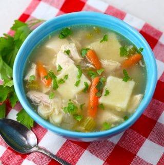 Nana's Chicken and gluten free dumplings