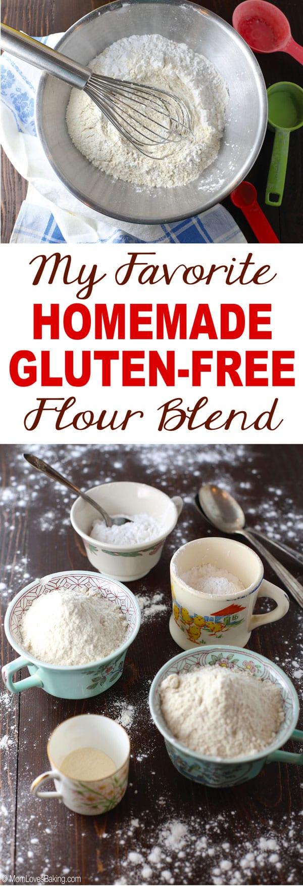 My favorite homemade gluten free flour blend