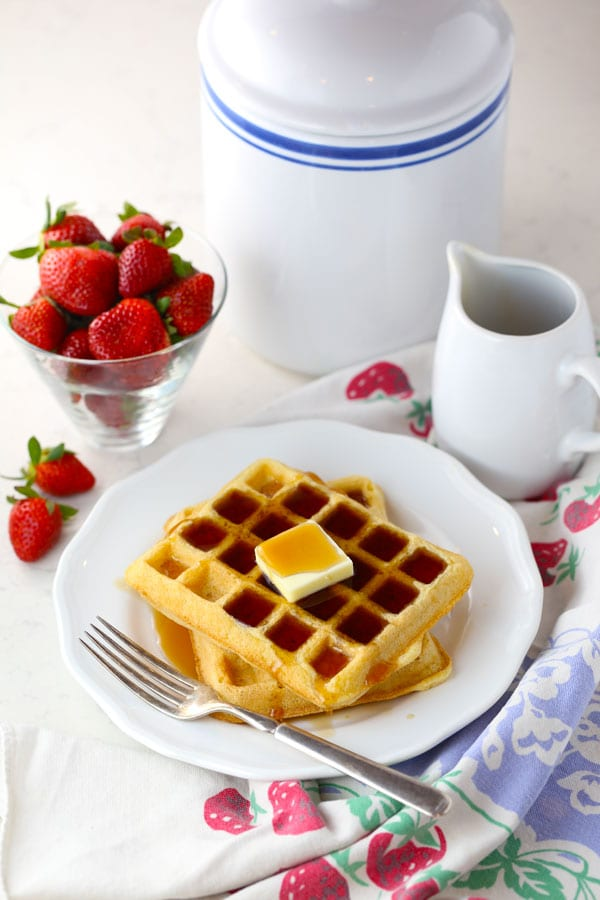 The Best Gluten Free Waffles