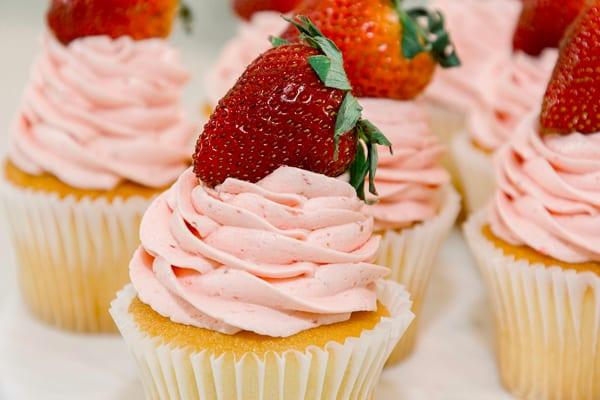 The Best Strawberry Buttercream Frosting