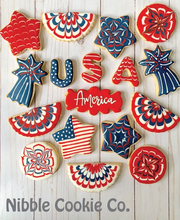How To Make Patriotic Sugar Cookies Free Online Class Mom Loves