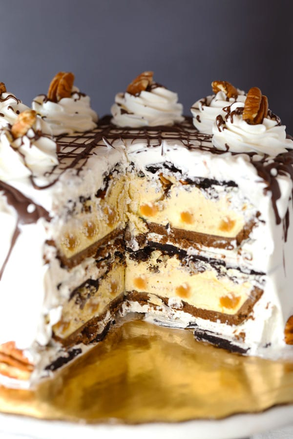 Easy Turtle Icebox Cake